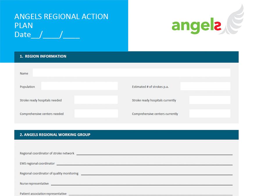 Plantilla del plan de acción regional