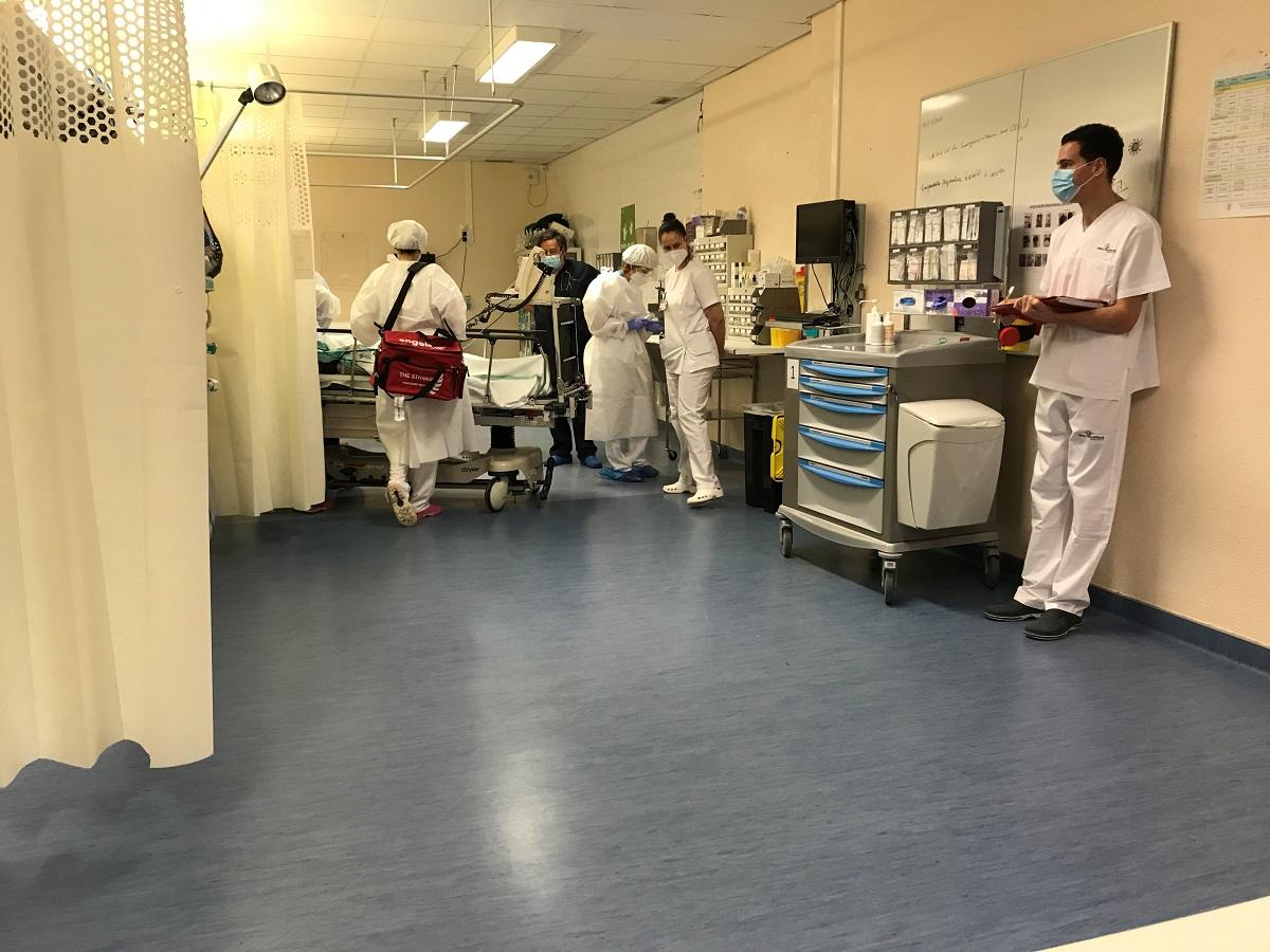 Simulação de AVC no Centro Hospitalar Tondela-Viseu