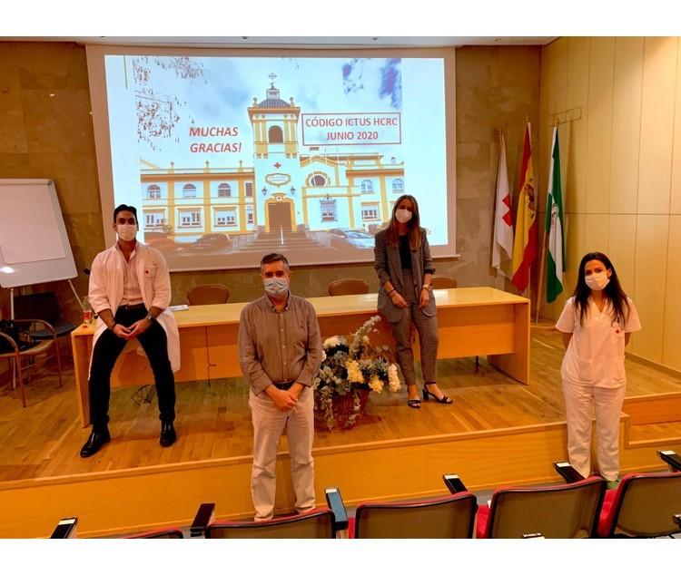 Обучение за инсулт в болница Cruz Roja в Кордоба