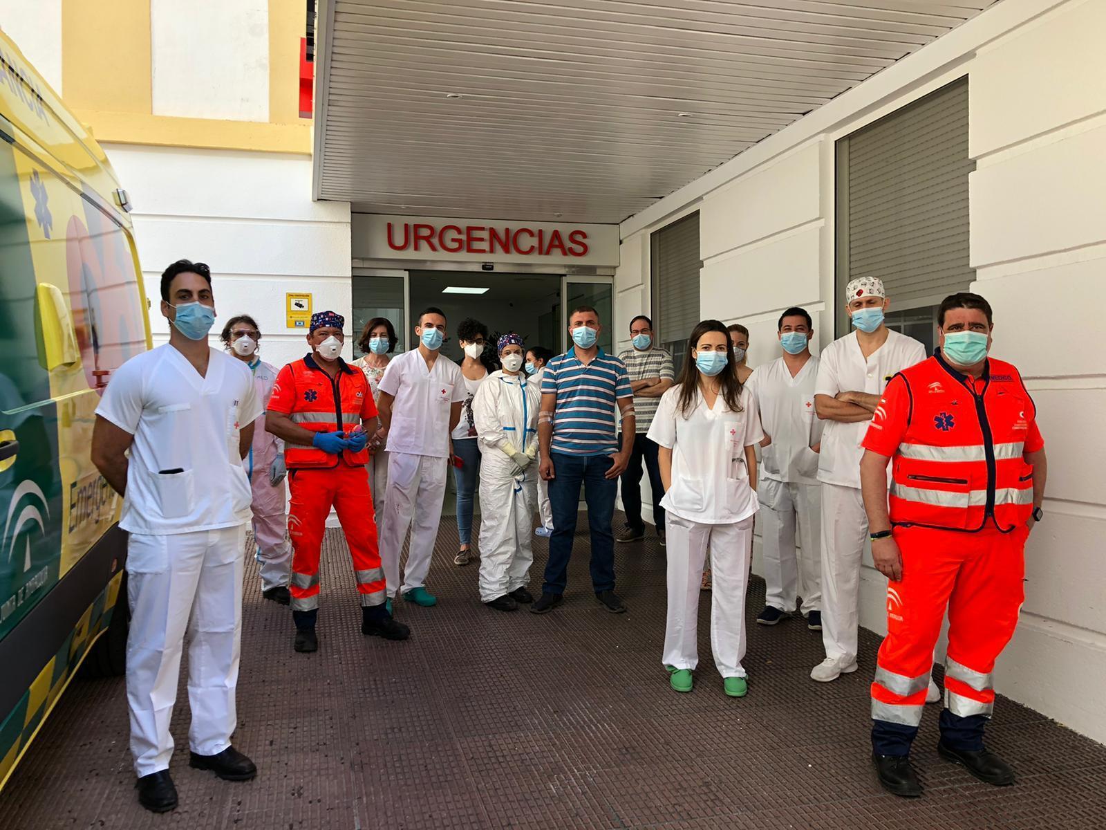 Екип по инсултите на болница Cruz Roja в Кордоба