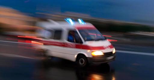 Uma ambulância rápida