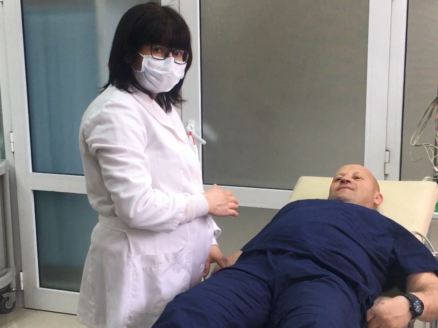 Simulation of the treatment of a stroke patient in the Dr Atanas Dafovski Hospital, Kardzhali