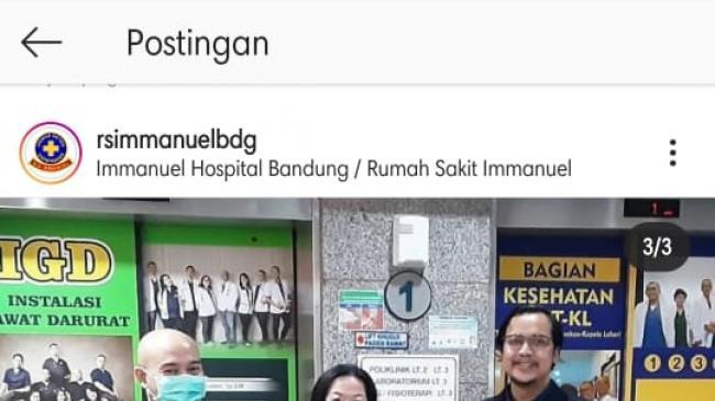 Платиновый статус WSOAngels для больницы Immanuel Bandung (Индонезия)